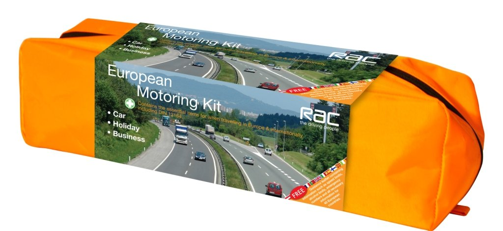 RAC European Motoring Kit Tool Connection (EU) 1019043