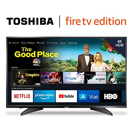 Toshiba 50LF621U19 50-inch 4K Ultra HD Smart LED TV HDR - Fire TV Edition