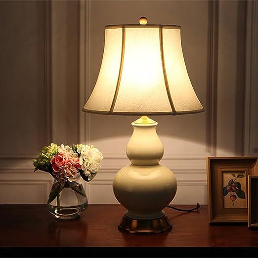Lámparas de mesa ZHWEI Cerámica Noche, Lámpara De Escritorio De ...
