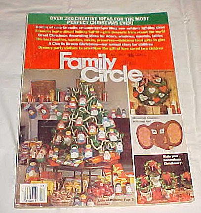Family Circle December 13, 1977 (Over 200 Great Christmas Ideas-For the Most Perfect Christmas Ever) (Family Circle Christmas Magazine)
