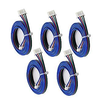 1m 4pin Stepper Motor Cables XH2.54 Wire For 3D Printer NEMA 17 Stepper