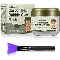 Masque Argile Masque de Boue Bulles Carbonaté Hydratant Nettoyage Profond Eclaircissant Soin de Peau 100g