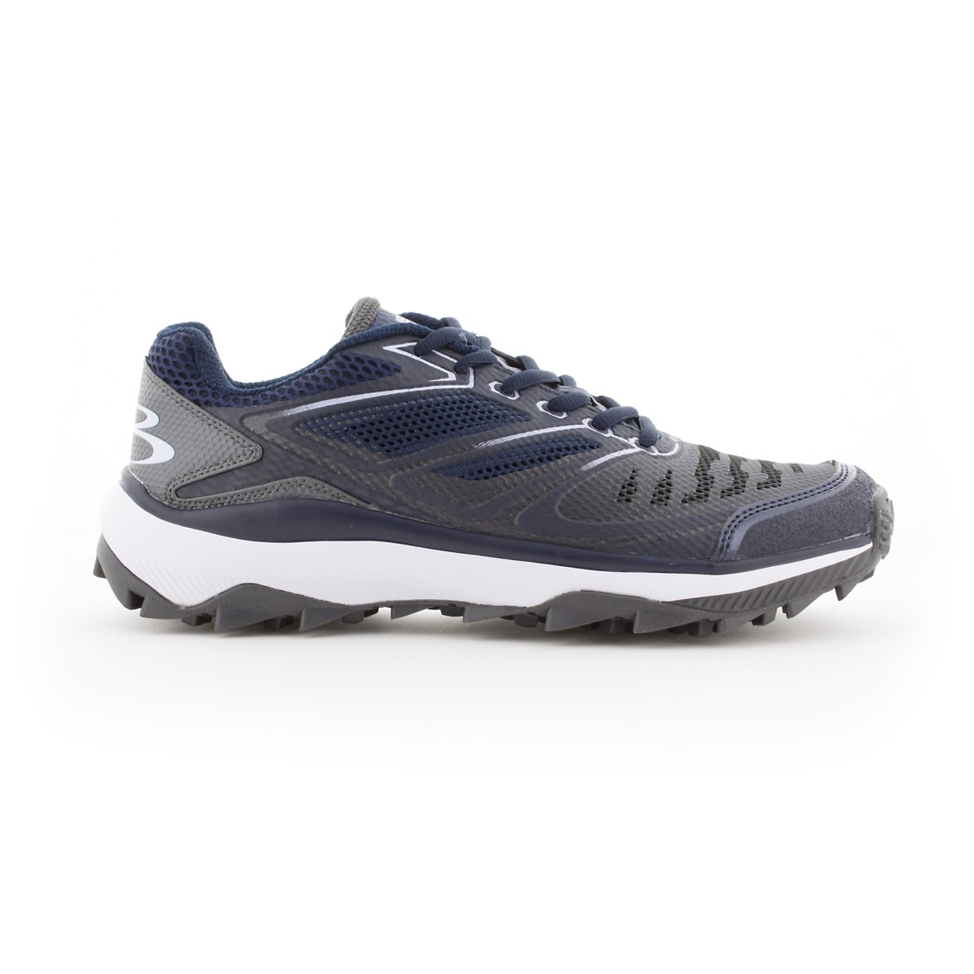 BoombahメンズTurbine Turf Shoes – 20カラーオプション – 複数のサイズ B076JRSZ2D 12|ネイビー/チャコール ネイビー/チャコール 12
