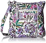Vera Bradley Iconic Hipster, Signature Cotton, Lavender Meadow