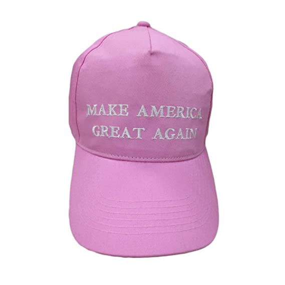 Trump 2020 Donald Trump Hat Re-Election Keep America Great Embroidery USA Flag at Amazon Mens Clothing store:
