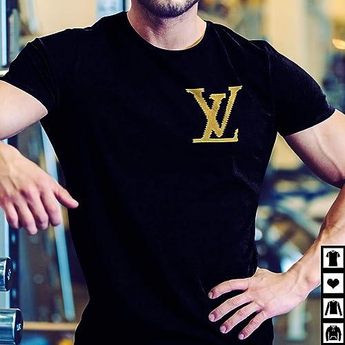eef308e20af78 Amazon.com: Louis Vuitton Lv Brick T-Shirt: Handmade