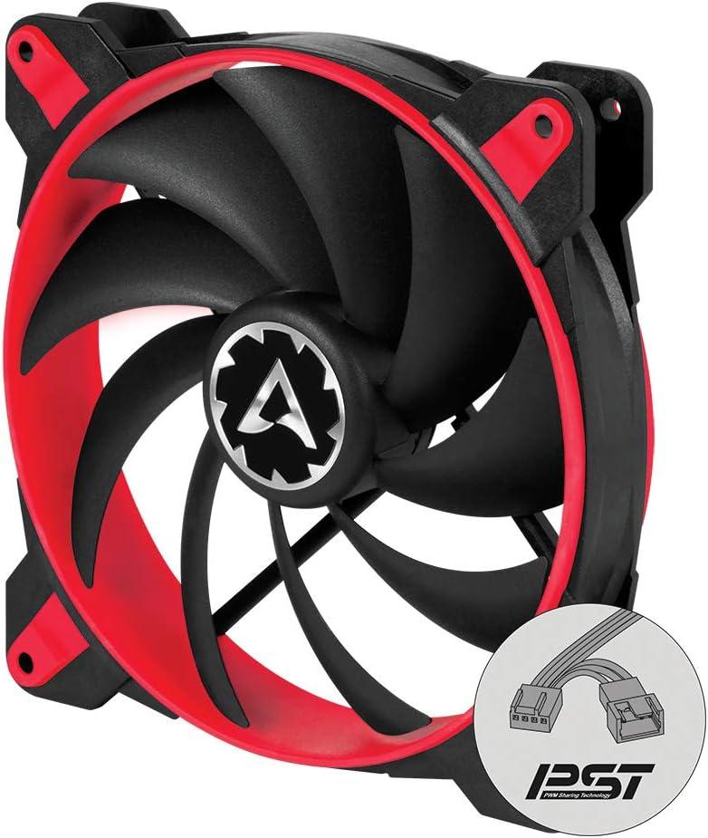 Ventilador Arctic Bionix F140-140 Mm (Rojo), Velocidad 200-
