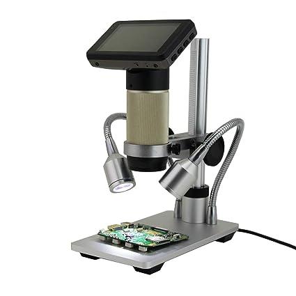 Microscopio Digital de inspección de microscopios HDMI 10x-300x Zoom óptico 1080P PCB para reparación