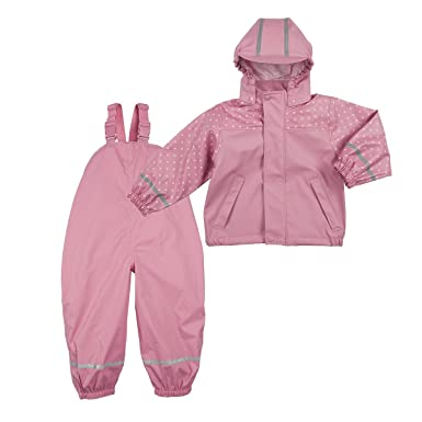 beliebt kaufen 9af0e c777f BORNINO Set Regenjacke und leichte Regenlatzhose Baby ...