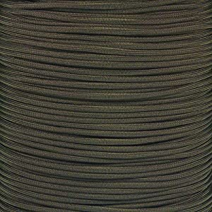 Paracord Planet 550 Cord Type III 7 Strand Paracord 1000 Foot Spool - Camo Green