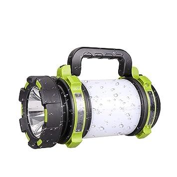 BOFEISI Antorcha LED Recargable, Camping Multifuncional Súper ...