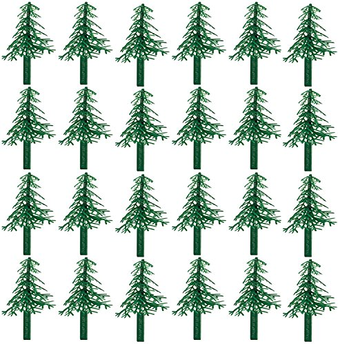 Evergreen Trees for Cake