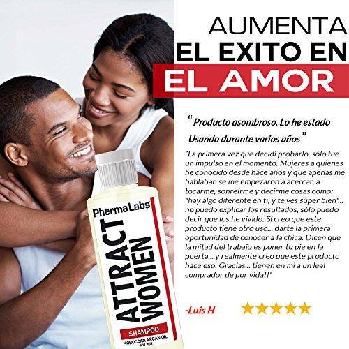 Amazon.com : PhermaLabs Feromonas Champú Argan de Hombre para el Cabello - 10 fl oz - Atraer MUJERES instantáneamente- Mayor Concentración De Feromonas ...