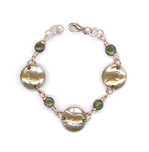 Gift Ideas For Women 1942 Penny Labradorite Bracelet 75th Birthday Gifts