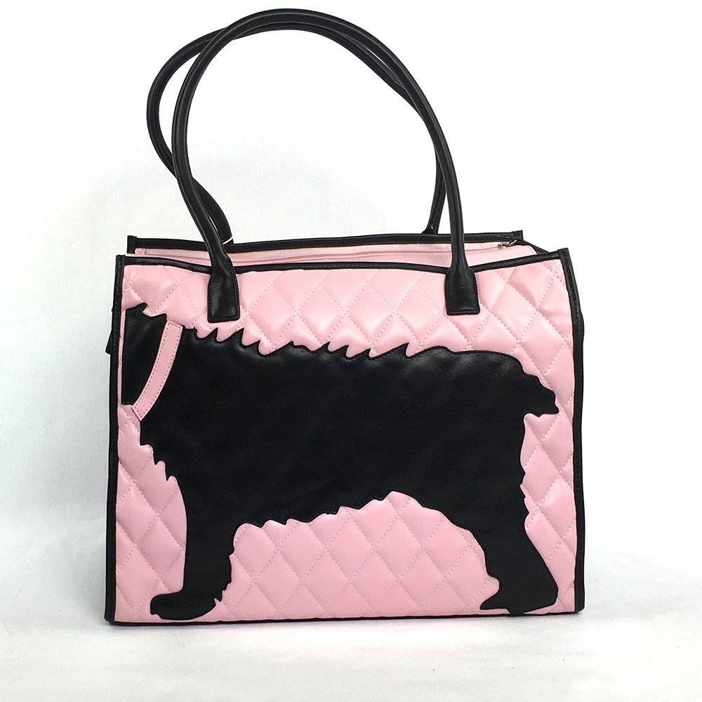 Pampered Puppy Carrier: Pretty in Pink & Black