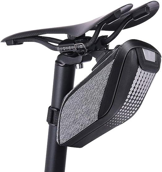 WHTBOX Bolsa Sillin Bicicleta Impermeable,Bolsa Tija Sillin ...