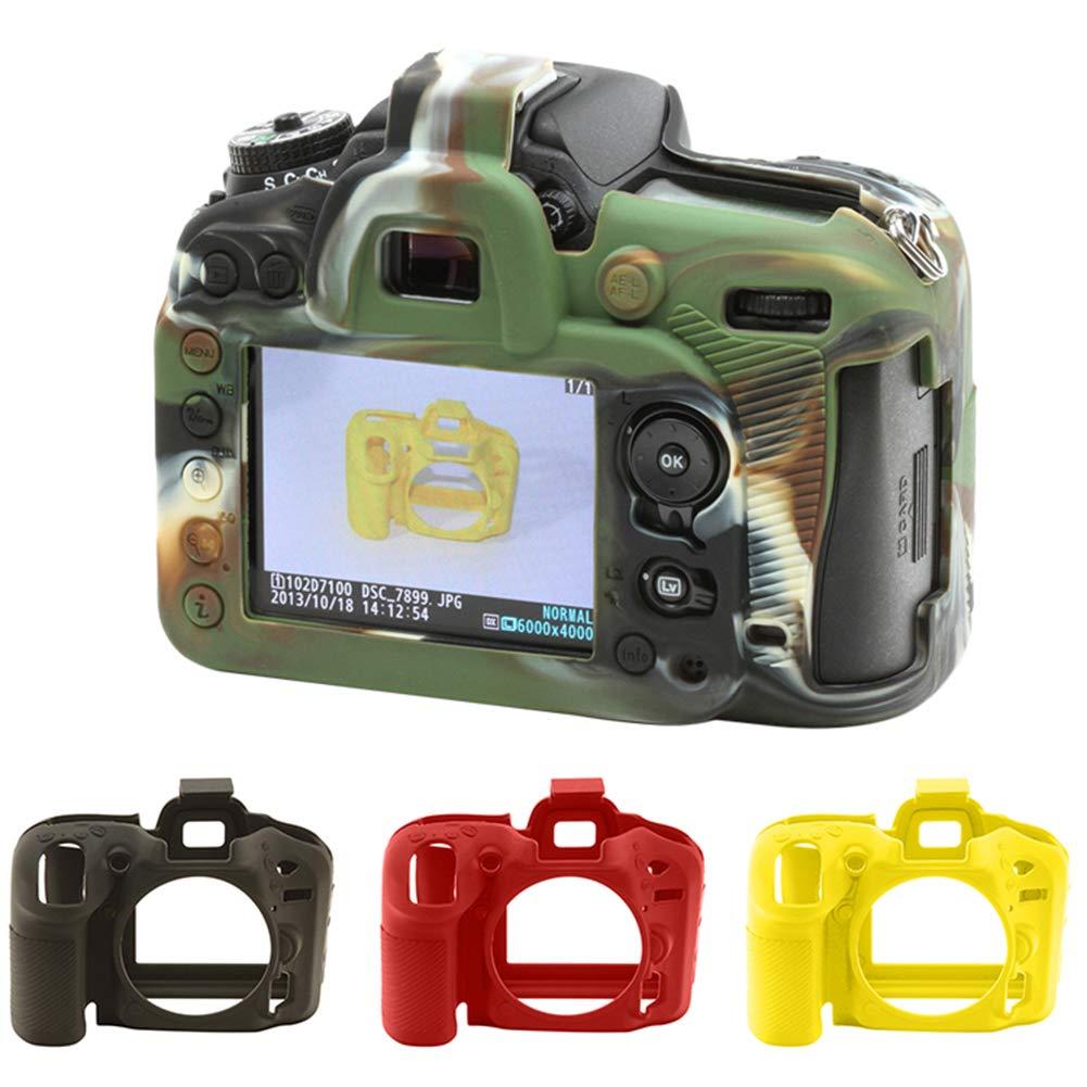 FeiyanfyQ - Carcasa de Silicona para cámara Nikon D750/D7100/D7200 ...