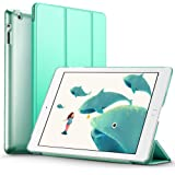 iPad 2/3/4 Case, ESR® iPad 2/3/4 Smart Case Cover Synthetic Leather Trifold and Translucent Frosted Back Magnetic Cover with Auto Wake & Sleep Function [Ultra Slim] [Light Weight] for iPad 2 / iPad 3 / iPad 4 (Mint Green)