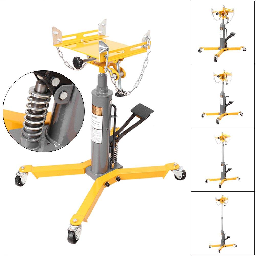 Newsmarts Hydraulic Telescopic Transmission Jack, 1100lbs Capacity