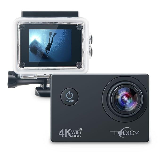 13 opinioni per Topjoy Sport Action Camera TJ5000 4K 16MP Sott'acqua Action Camera con NTK96660