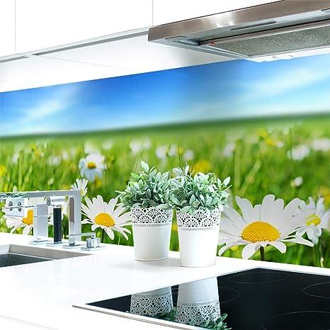 Küchenrückwand Blumenwiese Premium Hart Pvc 0 4 Mm Selbstklebend 280x60cm