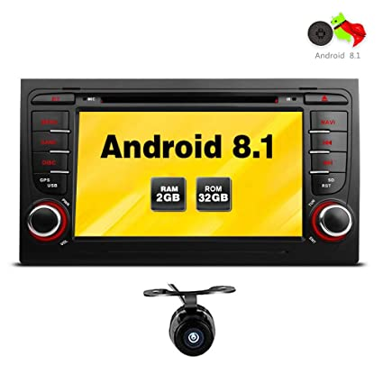 """Freeauto para Audi A4/S4/RS4/Seat Exeo 7 """"Android 8.1"""