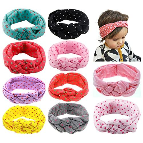 Baby Headbands Turban Knotted, Girl's...