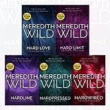 Meredith Wild Hacker Series 5 Books (1-5) Set Collection (Hardwired, Hardpressed, Hardline, Hard Limit, Hard Love)