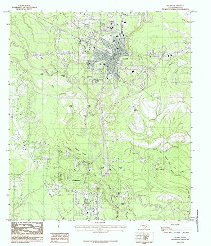 YellowMaps Silsbee TX topo map, 1:24000 Scale, 7.5 X 7.5 Minute, Historical, 1984, Updated 1985, 27 x 23.1 in - Paper