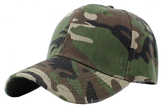 49255dbffed Nanxson(TM) Unisex Hip-hop Sports Trucker Hat Camouflage Adjustable Curved  Peaked Baseball Cap MZM0050  Amazon.co.uk  Clothing
