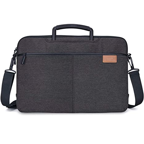 2912e2dfc5b9 Lymmax Laptop Bag, 10-14 Inch Laptop Case with Shoulder Strap, Waterproof  Laptop Briefcase Notebook Case Bag Sleeve for ...