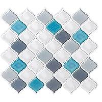 FAM STICKTILES Pegatinas de Baldosas, 4 Piezas Azulejos
