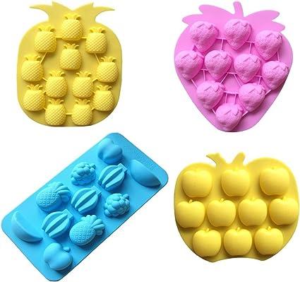 Frucht Serie Silikonform Schokoladenform Fondant Süßigkeiten Form Kuchen DekoXUI