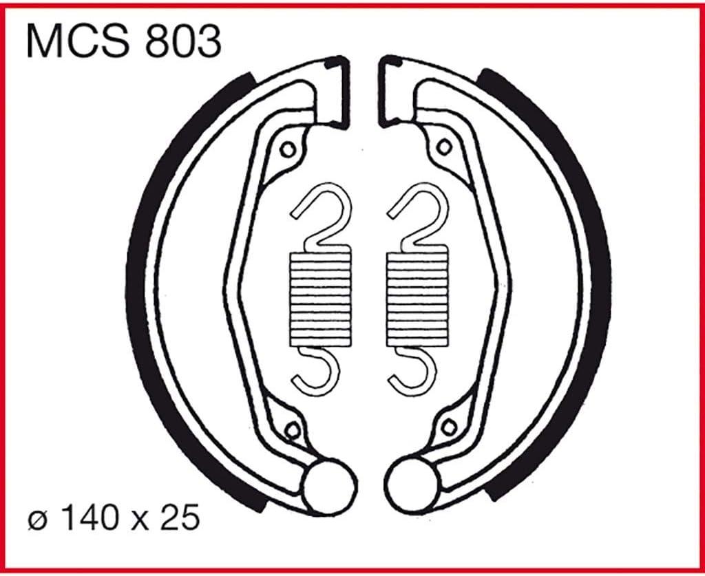 Bremsbacken TRW XL 250 S L250S 79-81 vorne