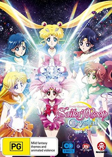 Sailor Moon Crystal Set 2 | Episodes 15-26 | Anime | NON-USA Format | PAL Region 4 Import - Australia