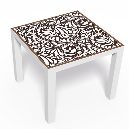 Muebles pantalla floraldesign para mesa auxiliar Serie barniz de ...