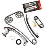 MOCA Timing Chain Kit for 01-10 Toyota Camry Corolla & Toyota RAV4 Highlander &