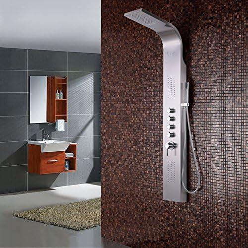 GFEI Lavabo de baño, juego de ducha / ducha masaje, columna de ...