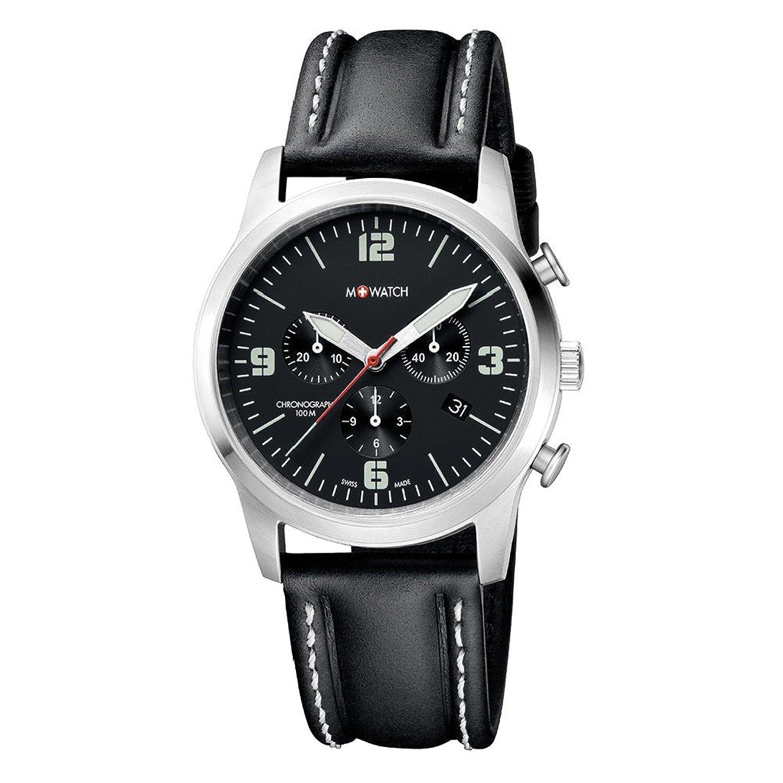 M-WATCH Herren-Armbanduhr Aero Chronograph Quarz WBL.08420.LB