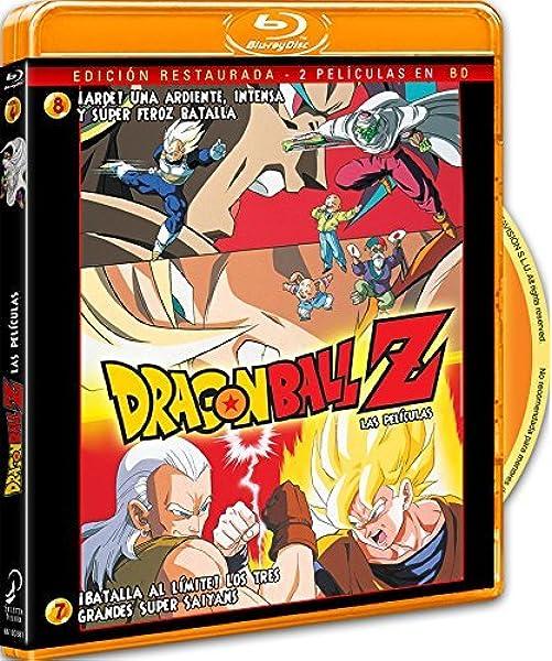 Pack Dragon Ball Z. Película 7: ¡Batalla Al Límite! Los 3 Grandes Super Saiyans.+ Película 8: ¡Arde! Una Ardiente, Intensa Y Super Feroz Batalla. Blu-Ray Blu-ray: Amazon.es: Animación, Daisuke Nishio, Animación: Cine