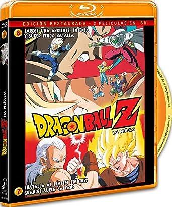 Pack Dragon Ball Z. Película 7: ¡Batalla Al Límite! Los 3 Grandes ...