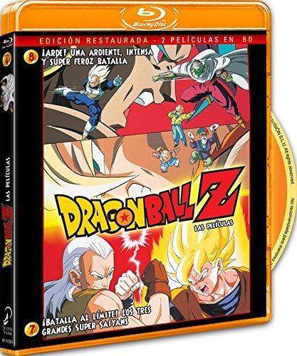 Pack Dragon Ball Z. ¡Batalla Al Límite! Los 3 Grandes Super Saiyans+ ¡Arde! Una Ardiente, Intensa Y Super Feroz... (Dragon Ball Z Movie Pack 3)