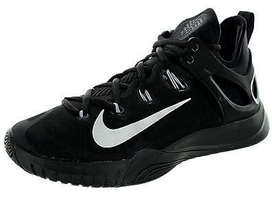 Nike Zoom HyperRev 2015 Mens Basketball Shoes 705370-001 Black Metallic  Silver 7.5 M US