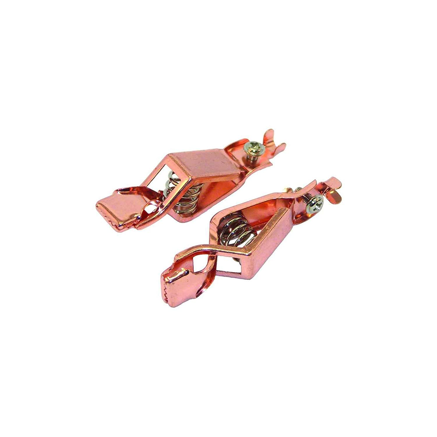 Invincible Marine Copper Alligator Battery Clips, 20-AMP Pair BR51010