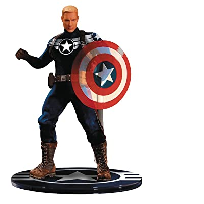 Mezco Toys One-12 Collective Marvel Commander Rogers Action Figure: Toys & Games