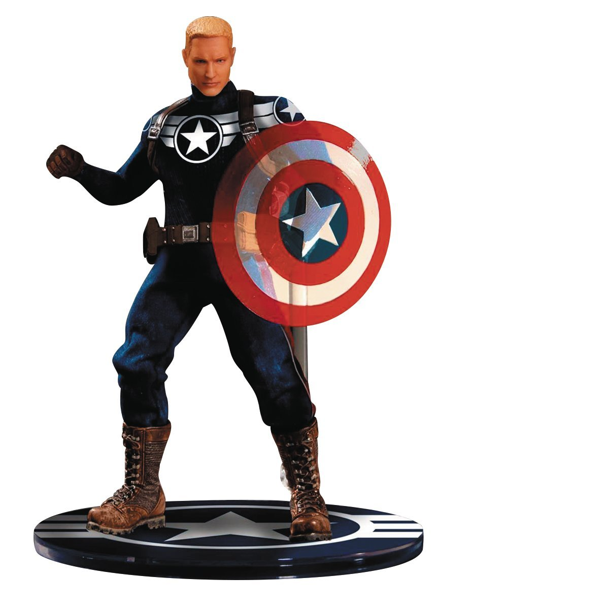 Mezco Toys one-12 Collective Marvel Rogers Commander Rogers Marvel Action Figur df9a78