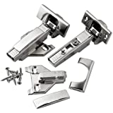 "3/8"" - 5/8"" Overlay Blum® 110° Soft-Close BLUMotion Clip Top Face Frame Hinges, Pair"