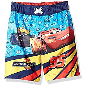 Disney Toddler Boys' Cars Character Swim Trunk