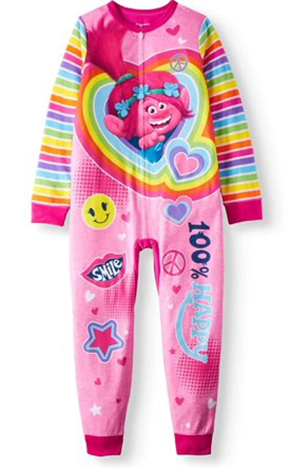 troll Girls' Poly 1-Piece Footless Sleeper Size 10/12
