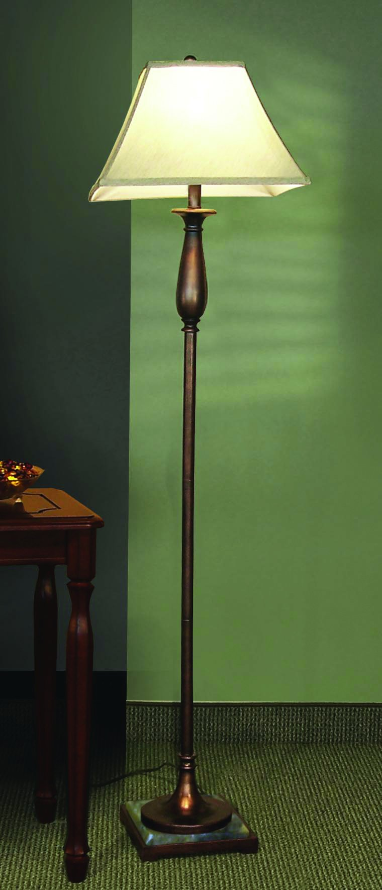 Coaster Transitional Bronze Floor Lamp by Coaster Home Furnishings